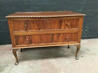 Fabulous Edwardian large two drawer chest