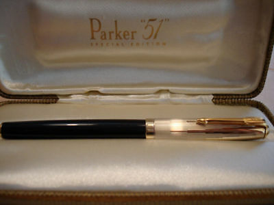 Parker 51 Special Edition Empire StateFountain Pen Medium Pt New  In Box