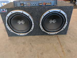 Sony Xplod amp and subs