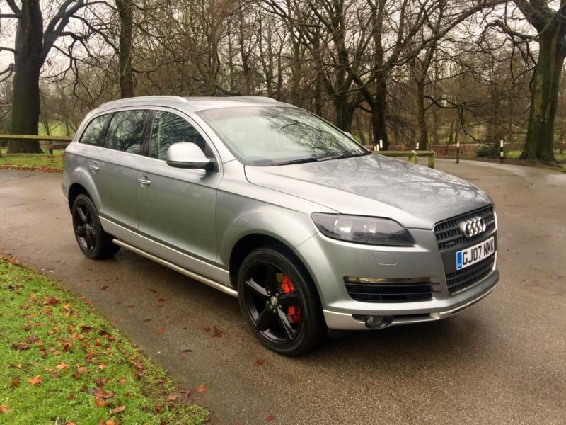 2007 audi q7 3 0tdi quattro 12 months mot full service history in high lane manchester. Black Bedroom Furniture Sets. Home Design Ideas