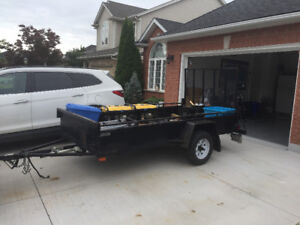 Utility trailer 5 ft by 10 ft for sale