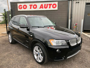 2011 BMW X3 35i xDrive SUV - Nav, camera, leather, roof