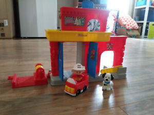 Fisher Price Fire Station Playset