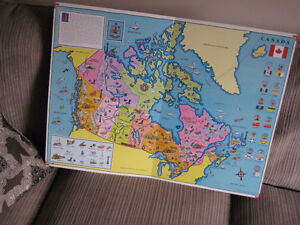 ITS A BIG BIG WORLD CHILDREN ATLAS CHART BOOK 1994 COMPLETE Kingston Kingston Area image 2