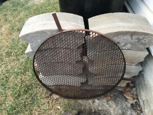 Fire Pit Grill/Blocks