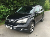 2008 - HONDA CR-V 2.2 i-CTDi EX TURBO DIESEL 4X4 6 SPEED MANUAL