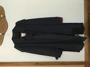 Men's London Fog Navy Trench Coat
