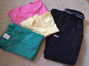 XS and Sm scrubs