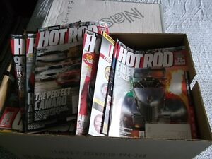 Over 10+ years of Hot Rod Magazines
