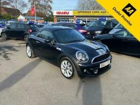 image for 2013 MINI Coupe 2.0 COOPER SD 2 DOOR COUPE 141 BHP IN BLACK WITH SILVER STRIPS W