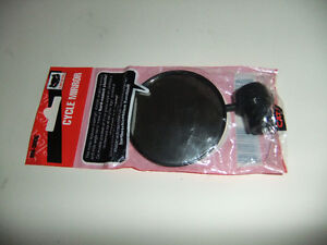 cat eye mirror, various reflectors, helmet