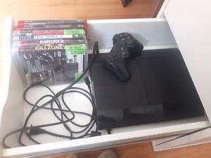 Ps3 and a few games for sale