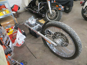 Complete 2006 Harley XL front-end and parts