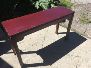 Pier 1 Sofa/Console Table