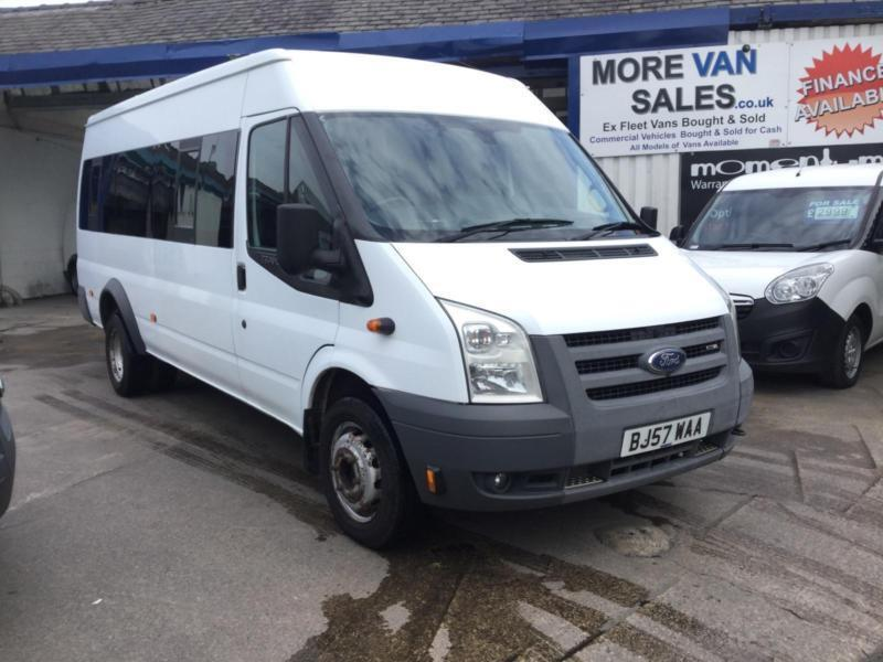 Black Friday sale 2007 1 owner Ford TRANSIT 2.4 70,000m 17-SEAT minibus taco