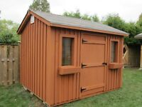 Beautiful pine garden sheds
