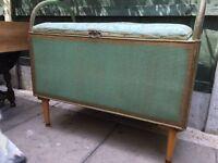 Large Vintage ottoman blanket box