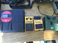 Cheap Vintage Pedals EHX Wah Roland FC Boss Korg Multi-Effects