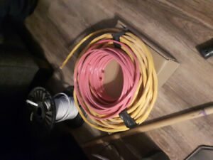 Electrical wire; 10-3, 12-2, 50' each