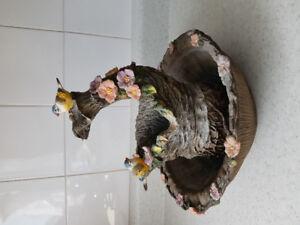 Fontaine à eau maison oiseau Zen