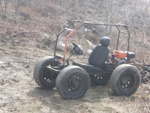 Woods buggy with 13 hp ducar engine