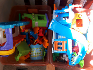 4 vtech toy set lot