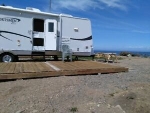 Trailer for rent by the sea at Green-Point , NB