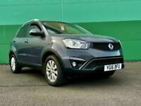 2016 Ssangyong Korando 2.2 EX 4x4 5dr with full dealer History and Price match o