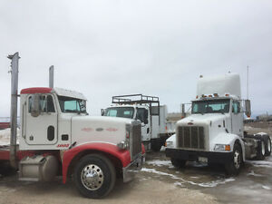 2003 Peterbilt 385 Day Cab - 425 Cat non emission - new safety