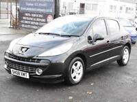 Peugeot 207 1.4 VTi Sport, Black, 5 Doors, FSH, 6 Months AA Warranty