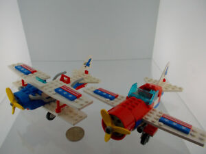 Vintage Lego Airplane with Original Instruction Booklet