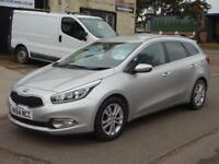 2014 (64) Kia ceed 3 1.6 CRDi 126bhp Estate Diesel £30 road tax *Navigation*