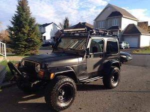 Jeep tj 200w 8500 $ negociable