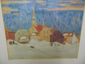 A Quebec City By A Y Jackson, group of seven