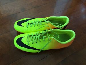 Mercurial Soccer Shoes -Size US 8-