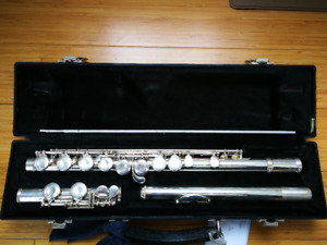 Selmer Flute with Case - Made in USA - $120