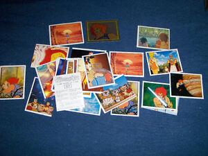 LOT OF 33 VINTAGE THUNDERCATS STICKER CARDS-1986-PANINI