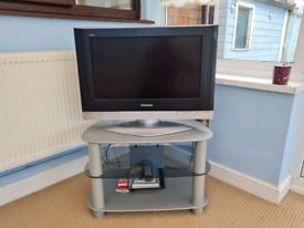 Panasonic HD TV and stand