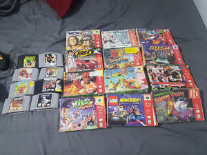 Nintendo 64 Games / Controllers and Accessories