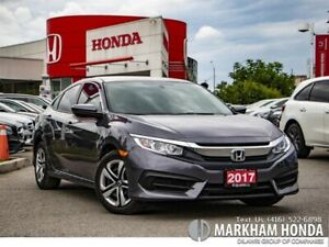 2017 Honda Civic LX - NO ACCIDENTS|1OWNER|$0 DOWN FINANCE|