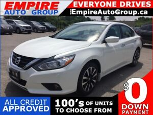 2018 NISSAN ALTIMA SV * BACKUP CAMERA * HEATED SEATS * POWER MOO