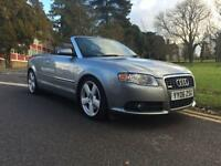 2006 Audi A4 2.0T FSI S Line 2dr Multitronic 2 door Convertible