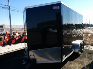 2018 Haulin Trailers HLAFTX - 7' Wide Wedge Front Flat Top HLAFT