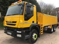 2013 Iveco Trakker 330 Euro5 6x4 alloy insulated tipper, 41,000kms only