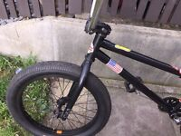 Custom cult BMX bike for sale or swap for another BMX or jump bike, OFFERS