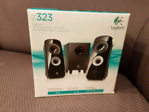 Logitech Z323  2.1 channel computer speakers