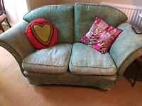 Settee Laura Ashley battered and shabby