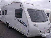 2009 twin axle 6 berth sterling europa 650 caravan