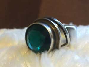 Italian sterling ring. Size 61/2