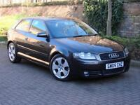 FINANCE AVAILABLE!!! 2005 AUDI A3 2.0 TDI SPORT 3dr, 6 SPEED, 1 YEAR MOT, FSH,